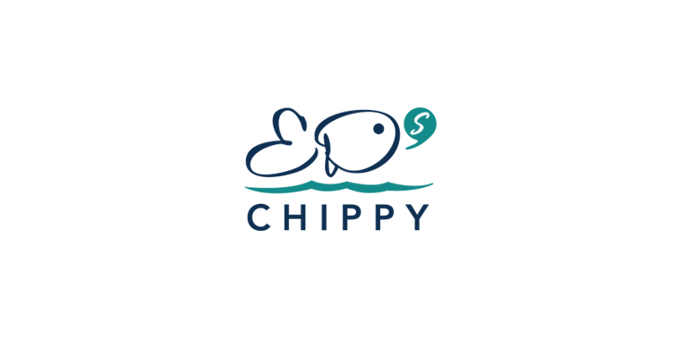 Brand identity logo stationary design chester fresh ayre for Eds fish and chips