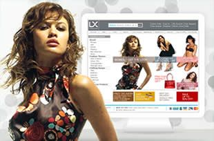 Ecommerce retail website