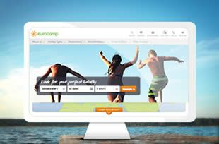 Eurocamp responsive website