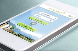 Eurocamp holiday booking mobile app