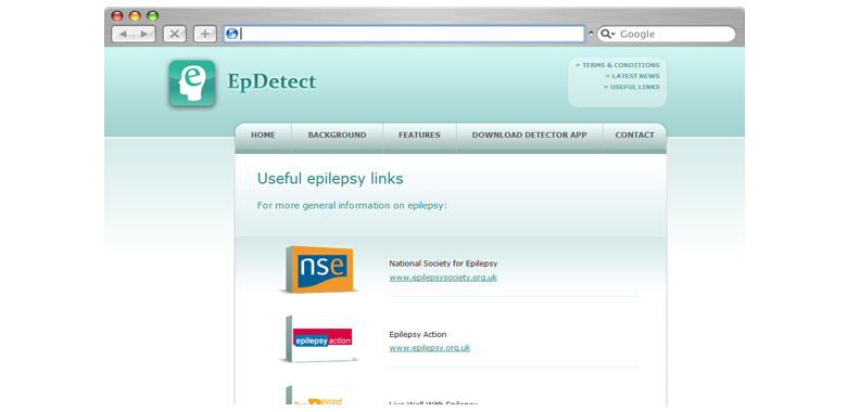 epilepsy seizure detection website