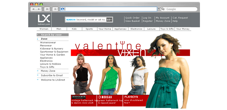 Littlewoods online landing pages